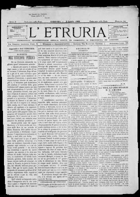 archivio etruria